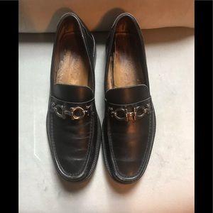 Salvatore Ferragamo Black Men's Loafers 9